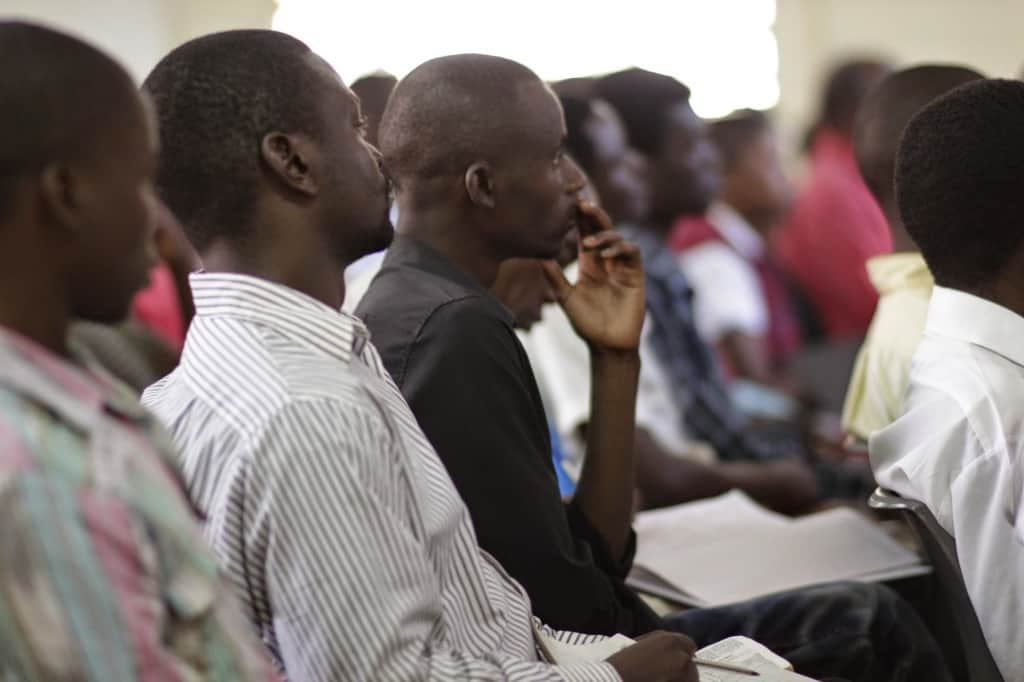 Malawi bible college students